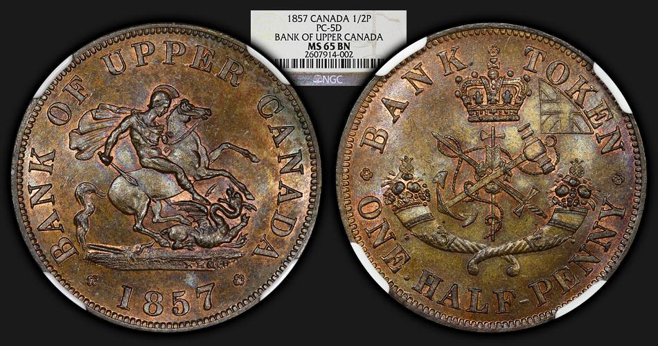 1857_UpperCanada_HalfPenny_NGC_MS65BN_Co