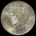 1923_peace_dollar_pcgs_ms65_obv